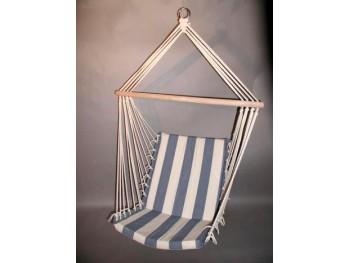 Hængestol Blå/hvide striber