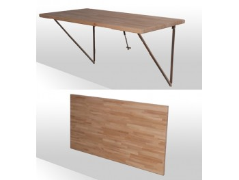 Fold-away-Table, kort