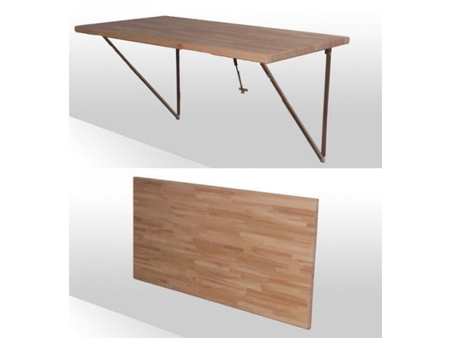 Fold-away-Table, lang