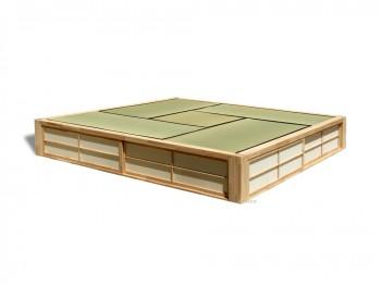 Tatami Podium, med indbygget opbevaring