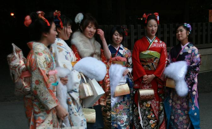 Coming of Age day in Japan, når unge er fyldt 20