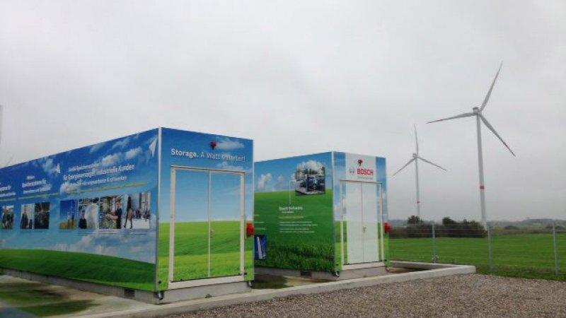 2014 - Europas største batterilager på hele 5 MW