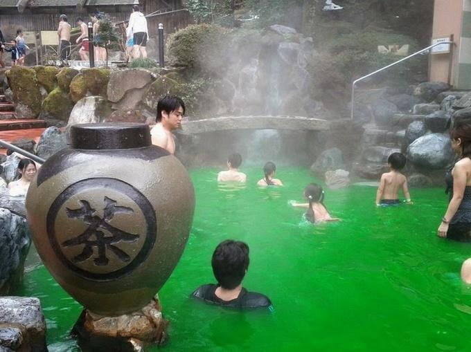 Grøn te bad er anden populærest