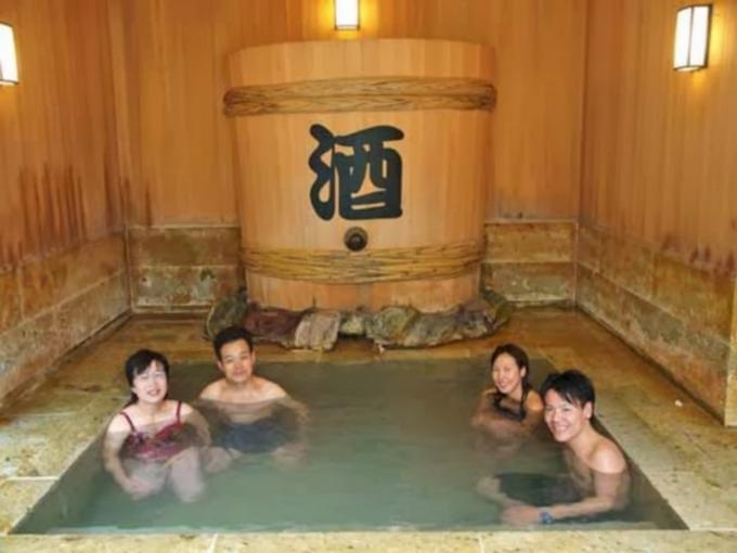 Sake badet