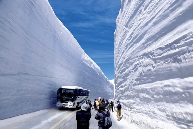 winter i Toyama