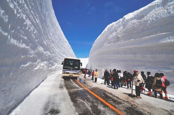winter in toyama