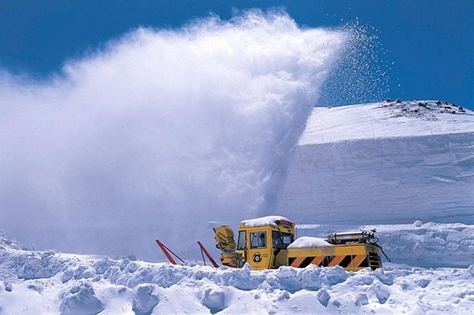Sneen i Toyama
