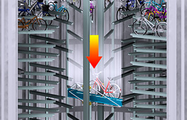 cycle-parking in Tokyo